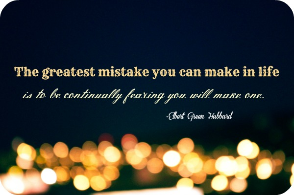Mistakes quote #2