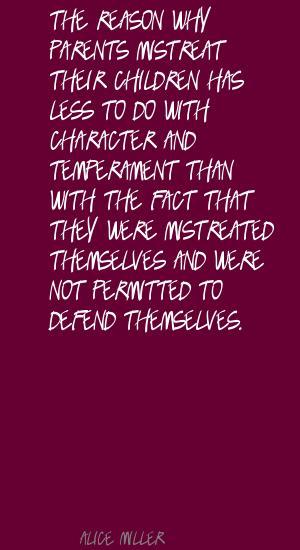 Mistreat quote #2