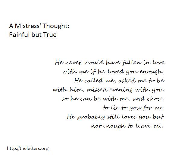 Mistress quote #7