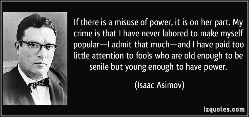 Misuse quote #2