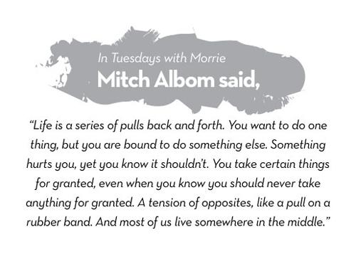 Mitch Albom's quote