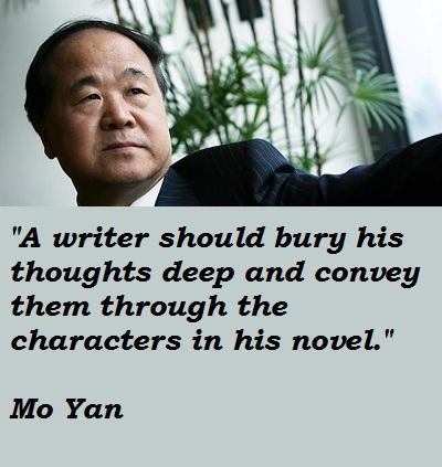 Mo Yan's quote #2