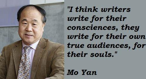 Mo Yan's quote #4