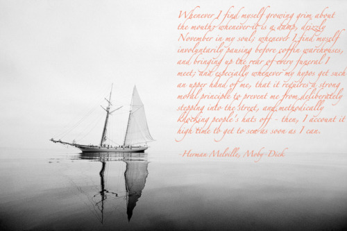 moby dick sea quotes