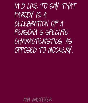 Mockery quote #1