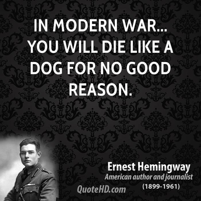 Modern War quote #2