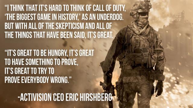 Modern Warfare quote #2