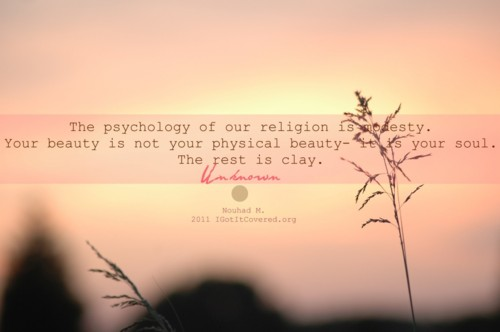 Modest quote #3