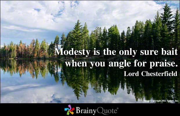 Modesty quote #6