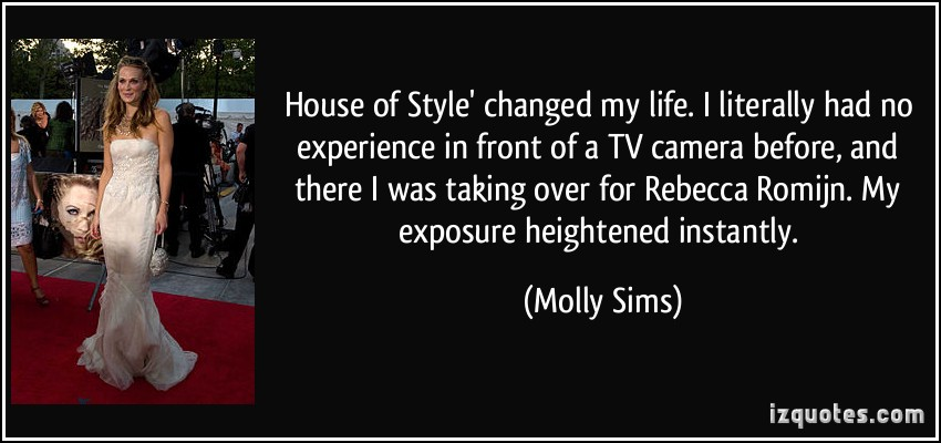 Molly Sims's quote #4