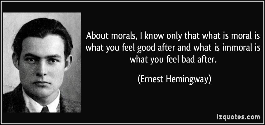 Morals quote #5