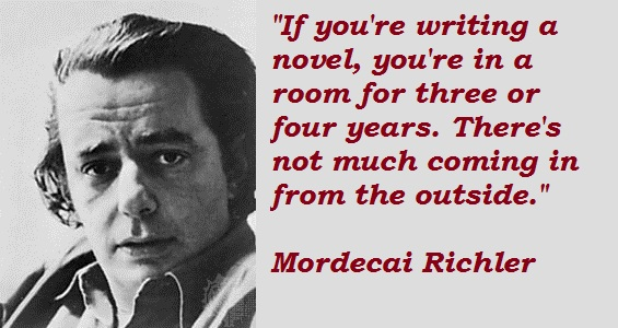 Mordecai Richler's quote #1