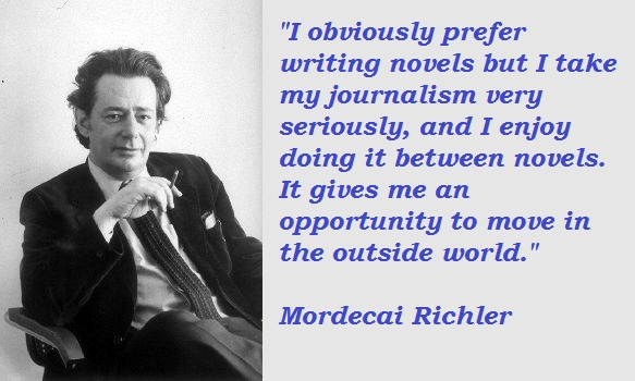 Mordecai Richler's quote #2