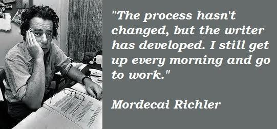 Mordecai Richler's quote #4