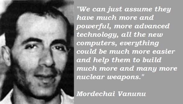 Mordechai Vanunu's quote #2