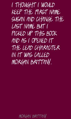 Morgan Brittany's quote #6