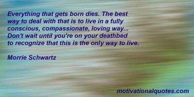 Morrie Schwartz's quote #5