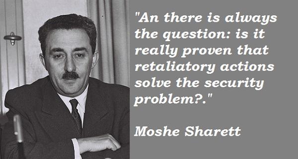 Moshe Sharett's quote #2