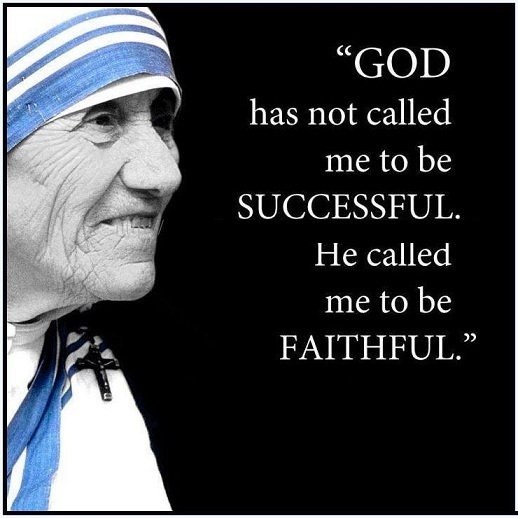 Mother Teresa quote #1
