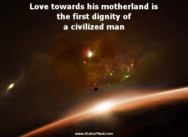 Motherland quote #1