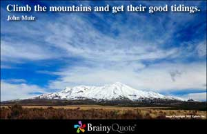 Mountains quote #4