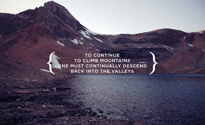 Mountains quote #3