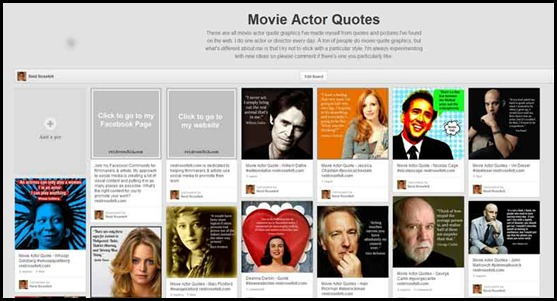 Movie Actor quote #1