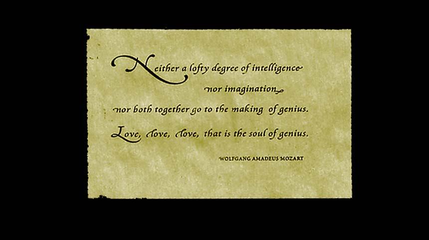 Mozart quote #3