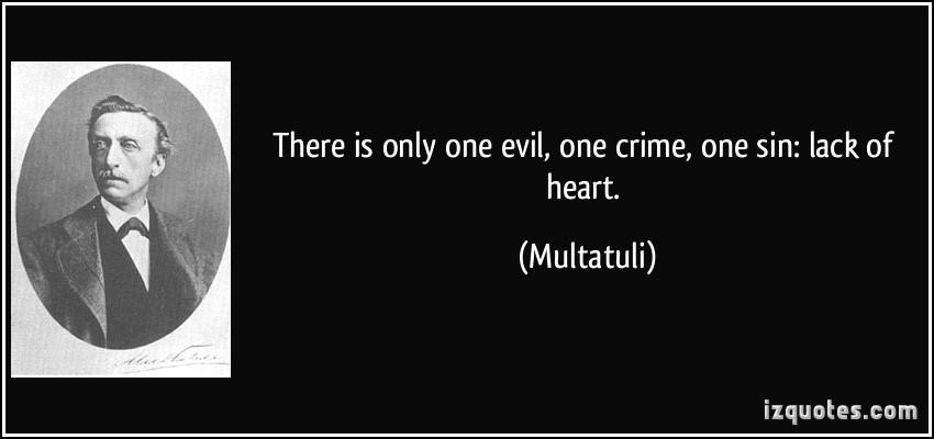 Multatuli's quote #1