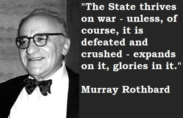 Murray Rothbard's quote #1