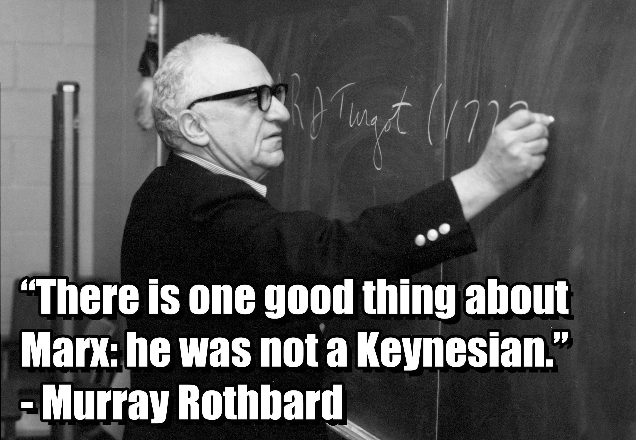 Murray Rothbard's quote #4