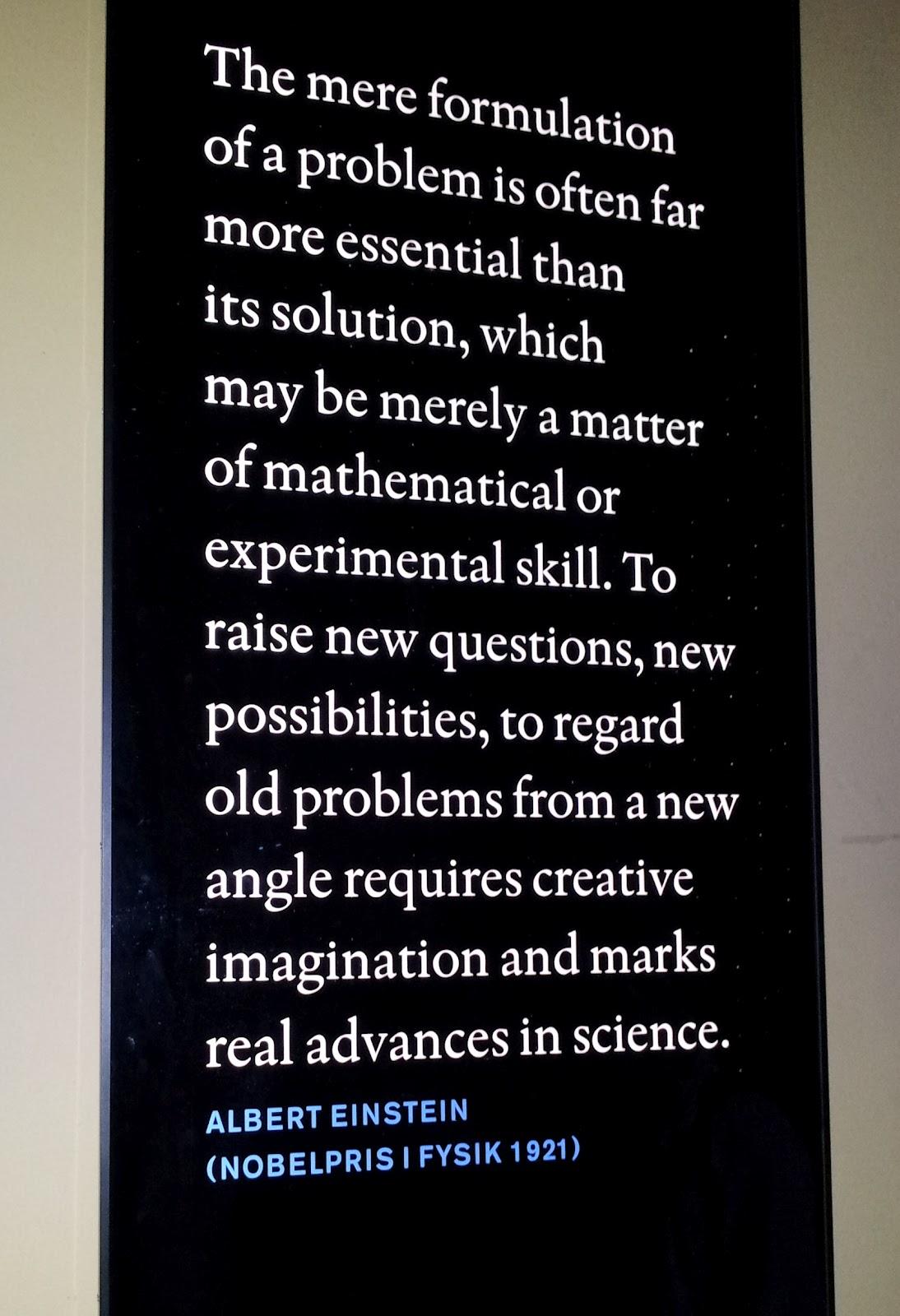 Museum quote #1