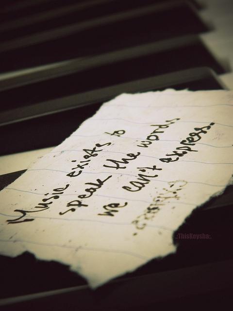 Music quote #3