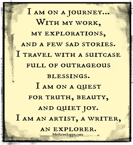 Love Quotes Journey: Famous Quotes About 'My Journey'
