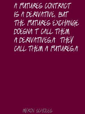 Myron Scholes's quote #3
