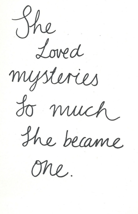 Mysteries quote #6