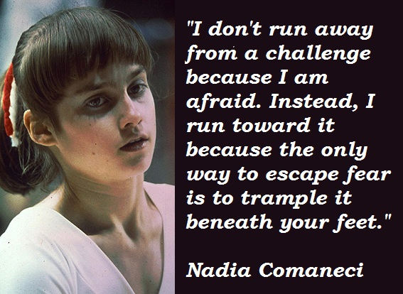 Nadia Comaneci's quote #1