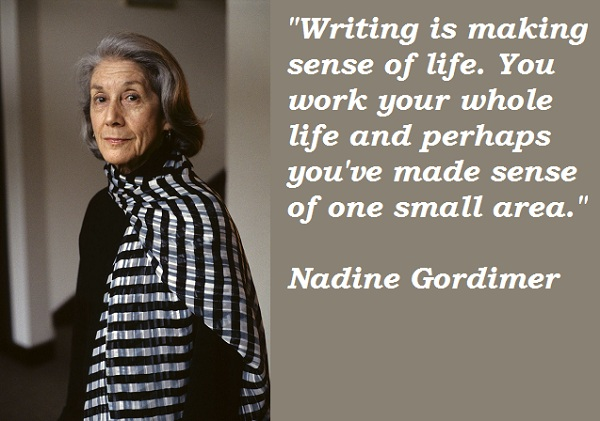 Nadine Gordimer's quote #1