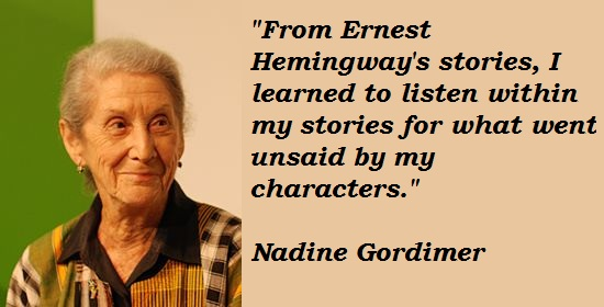Nadine Gordimer's quote #5