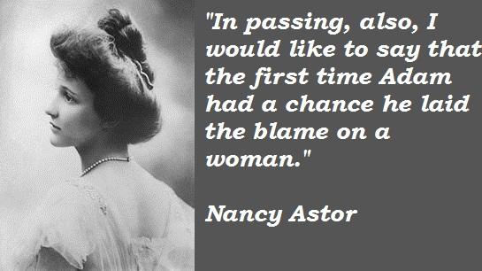 Nancy Astor's quote #6