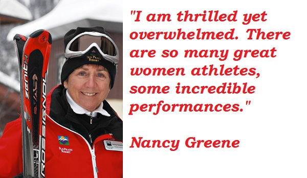 Nancy Greene's quote #2