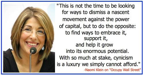 Naomi Klein's quote