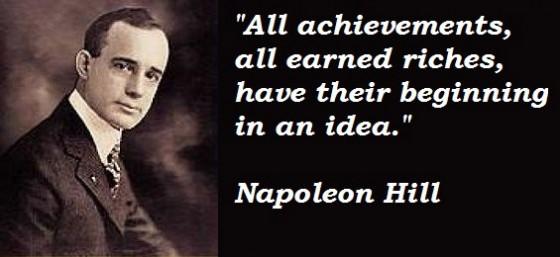 Napoleon Hill's quote #4