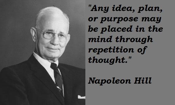 Napoleon Hill's quote #5