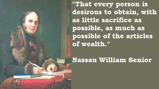 Nassau William Senior's quote #1