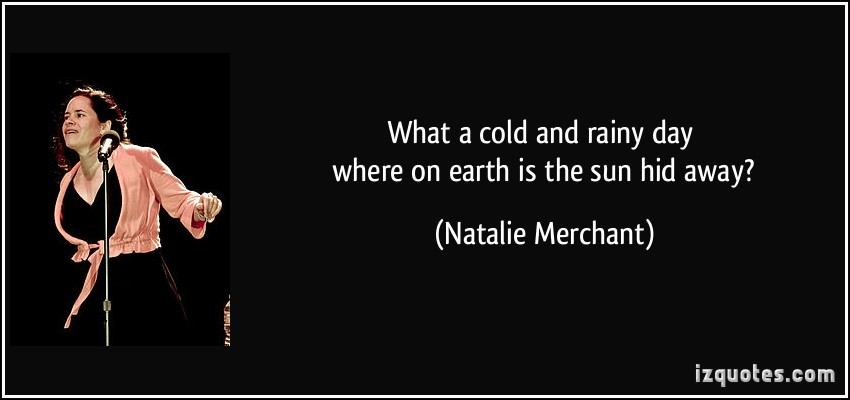 Natalie Merchant's quote