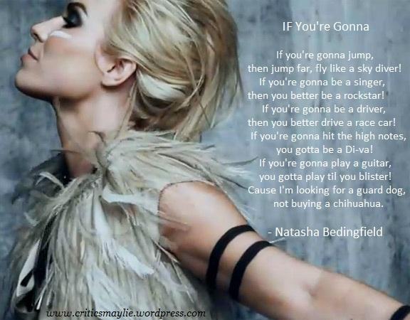 Natasha Bedingfield's quote #3