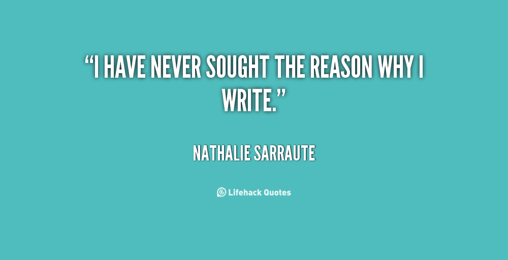 Nathalie Sarraute's quote