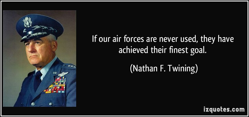 Nathan F. Twining's quote #1
