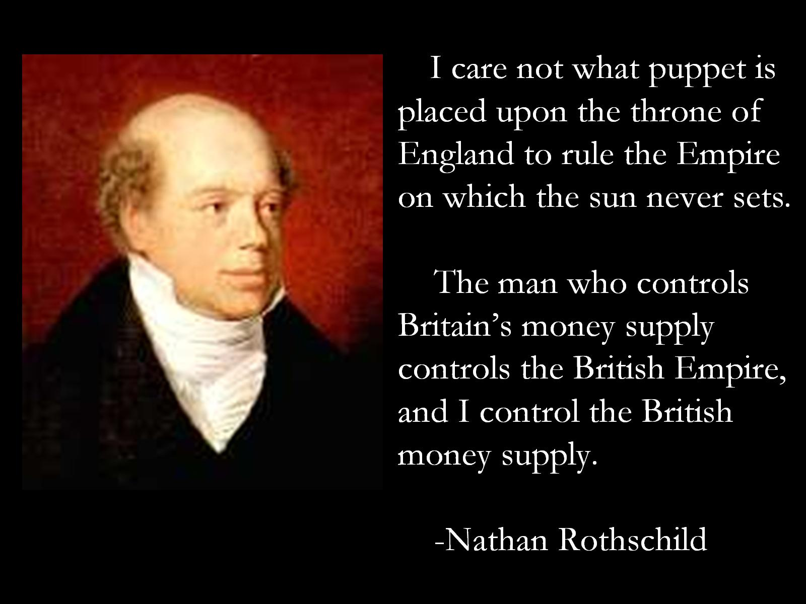 Nathan Meyer Rothschild's quote #1